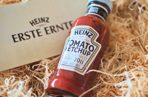 Mehr Aufmerksamkeit für HEINZ: limitierte Produkte in individueller Aufmachung für ausgewählte Blogger