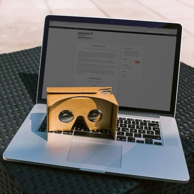 Virtual Reality Möglichkeiten im Web