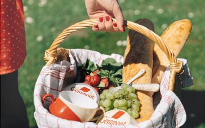 Sommerliches Pinterest-Fotoshooting für Géramont