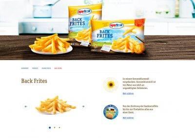 Agrarfrost Produktseite