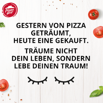 Pizza Hut Träume