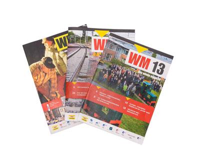 Gestaltung WM Wiebe Magazin