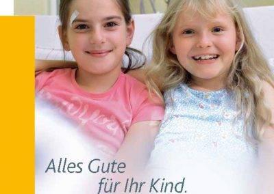 Titelseite der Broschüre der Kinderklinik