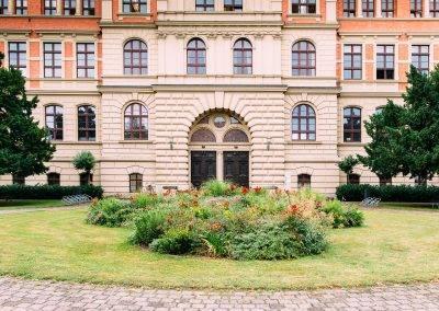 Das Hauptgebäude der Hochschule Anhalt in Köthen