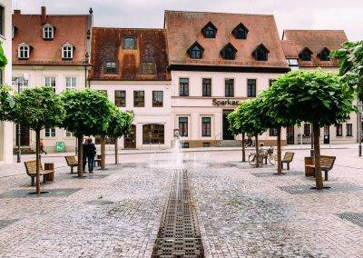 Auch kleinere Städte können mit einer schönen Innenstadt verzaubern
