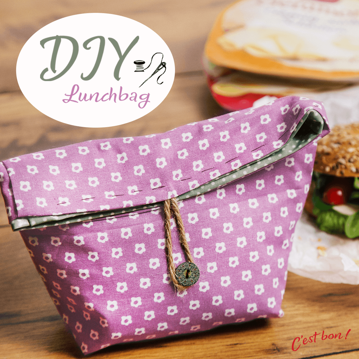 Die DIY Lunchbag