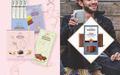 Süße News im (Facebook) Schoko-Regal