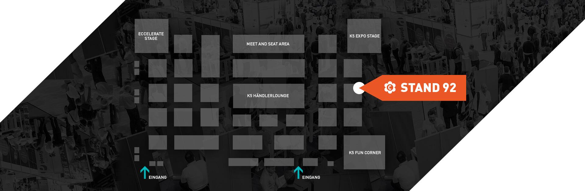 K5 Conference Hallenplan