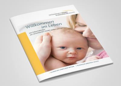 Geburtsbroschüre Titelbild