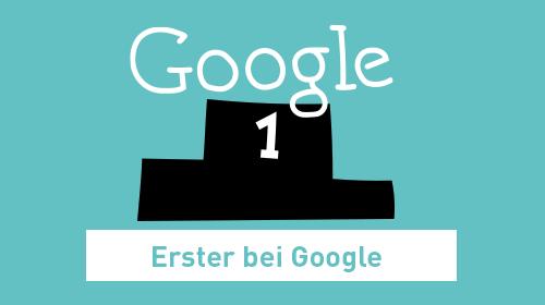 Erster bei Google