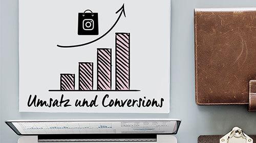 Umsatz und Conversions durch Instagram