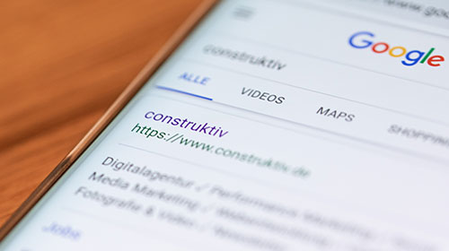 Handy URL construktiv