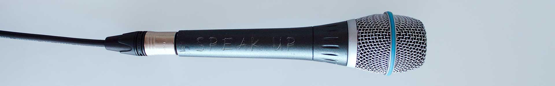 Mikrofon Close Up