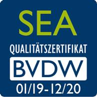 SEA Zertifikat 2019