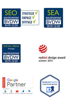 Awards und Zertifikate 2019