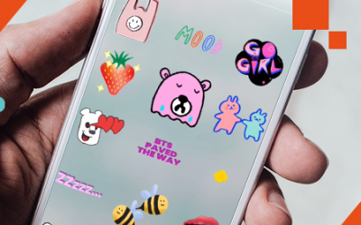 Instagram Stories in Motion: GIF-Sticker