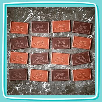 Flatlay Schokolade