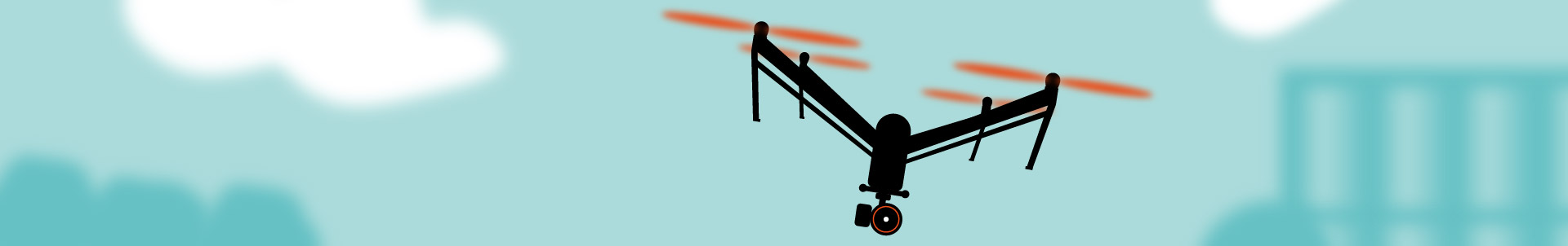 Helikopter oder Kran? Wir fliegen Kameradrohne!