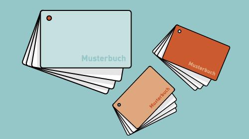 Darstellung verschiedener Musterbücher