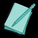 Stift mit Papier - Content-Kreation und Storytelling