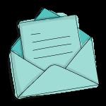 Briefumschlag – Regelmäßiger Versand
