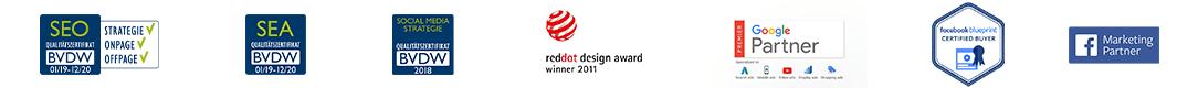 Awards und Zertifikate 2020