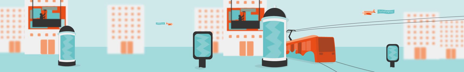 Out-of-Home-Werbung: analog und digital